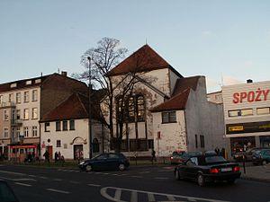 History of the Jews in Gdańsk - New Synagogue in Gdańsk-Wrzeszcz