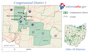United States House of Representatives elections in Ohio, 2008 - Image: OH03 109