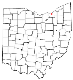 Location of Brooklyn in Ohio