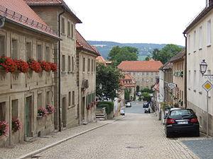 Obere Marktstraße in Weidenberg