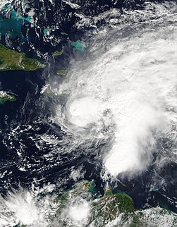 Tropical Storm Odette (2003) Atlantic tropical storm in 2003