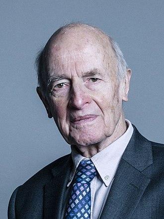 Dick Taverne - Image: Official portrait of Lord Taverne crop 2