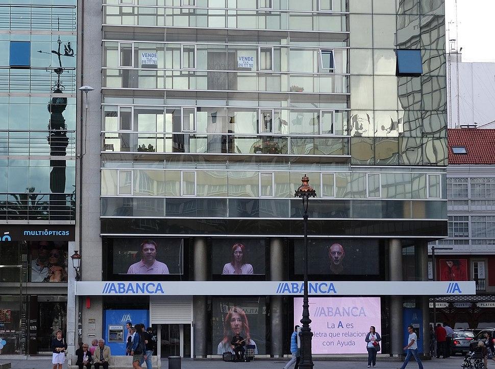 Oficina Abanca Coruña-praza Obelisco