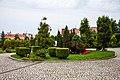 Ogród w zespole pałacu biskupiego w Przemyślu pl. katedralny 4a prnt.jpg