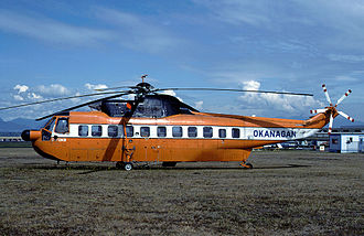 CHC Helicopter - A Sikorsky S-61 in Okanagan Helicopters livery
