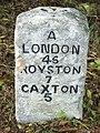 Old Milepost - geograph.org.uk - 1536941.jpg
