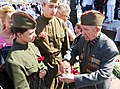 Old Soldier telling War Stories- Victory Park - panoramio.jpg