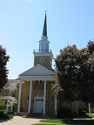 St. Paul Lutheran Church (Davenport, Iowa) - 1952 church
