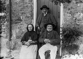Old people, Llanuwchllyn