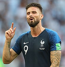 France national football team wikipedia for Olivier giroud squadre attuali