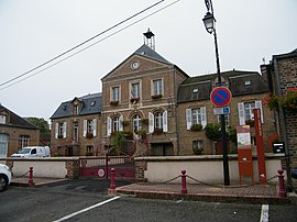 The town hall in Ons-en-Bray