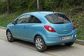 Opel Corsa Edition 111 Jahre (D) – Heckansicht, 5. April 2011, Wülfrath.jpg