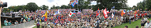 21st World Scout Jamboree - Scouts at the opening ceremony.