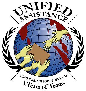 Operation Unified Assistance - Operation Unified Assistance logo