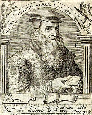 Johannes Oporinus
