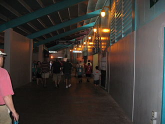 Miami Orange Bowl - Walkway of the Orange Bowl