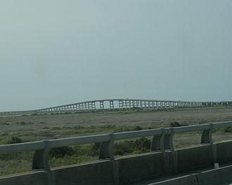Herbert Covington Bonner - Bonner Bridge over Oregon Inlet