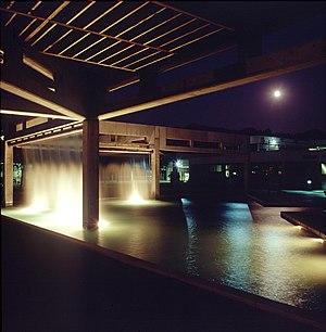 Utah Valley University - Campus at night