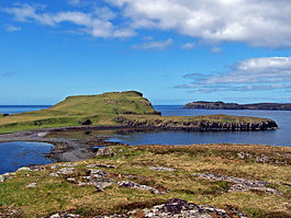 View of Oronsay from Ullinish Point