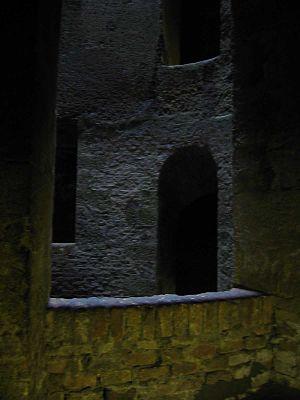 Pozzo di S. Patrizio - Interior view, showing the double helix staircase.