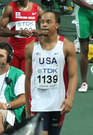 Adidas Track Classic - Wallace Spearmon is the current 200 meters meet record holder.