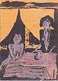 Otto Mueller - Zwei Zigeunermädchen im Wohnraum, 1926-27.jpeg