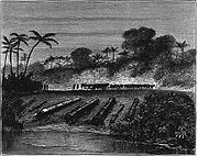 Ottoman and Acehnese guns after the Dutch conquest of Aceh in 1874 Illustrated London News