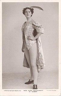 Ouida MacDermott British performer