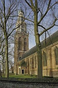 Overzicht van de kerk gezien vanaf de oostzijde - Enkhuizen - 20420488 - RCE.jpg