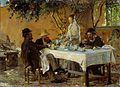 P.S.-Krøyer, Frokost i Sora, 1880, NGM01570, Nasjonalmuseet for kunst, arkitektur og design.jpg