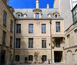 Paris Institute for Advanced Study - The institute is located at the hôtel de Lauzun, île Saint-Louis, Paris