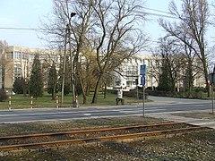 POLITIKISTO Warsaw WAT-ĉefa building.jpg