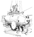 PSM V58 D171 The argonaut submarine in dry dock.png