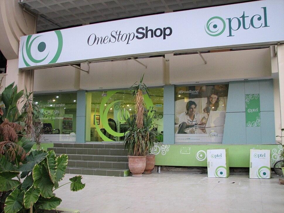 PTCL phone shop