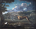Pace, Greyhound, hare, and the castle of Ariccia 1.jpg