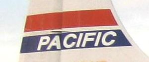 Pacific Air Lines - Image: Pacific Air Lines fin logo