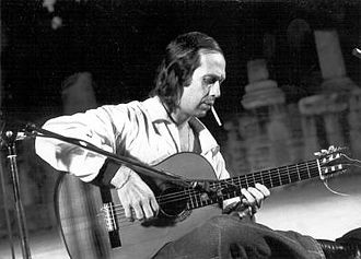 Flamenco - Paco de Lucía, one of the most commercially successful exponents of flamenco.