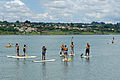 Paddle surfing at Lake Paranoa BSB 03 2015 1633.JPG