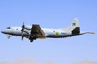 Pakistan Navy - Image: Pakistan Navy Orion Asuspine