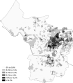 Pakistani Bristol 2011 census.png