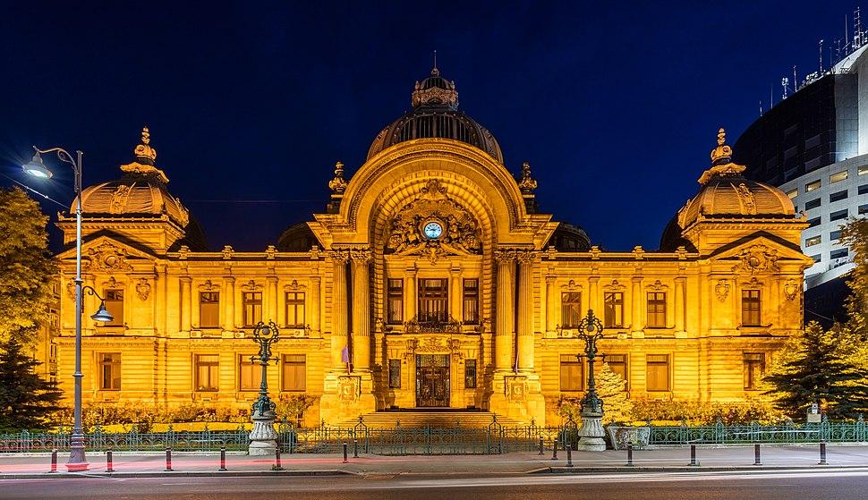 Palacio CEC, Bucarest, Rumanía, 2016-05-29, DD 91-93 HDR
