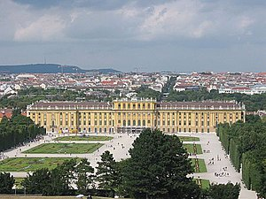 Hietzing - Schönbrunn Palace is located in Hietzing.
