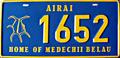 Palau license plate Airai 2005.png