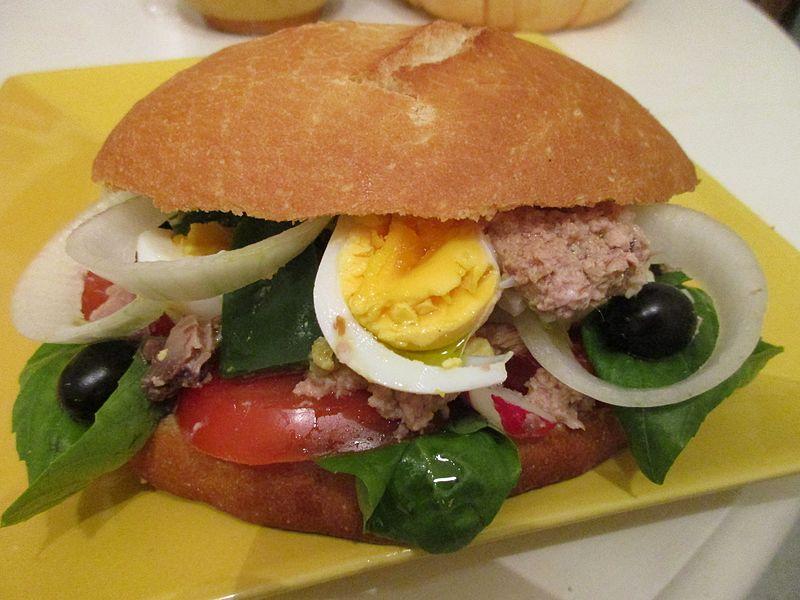 Sanduíches tradicionais da França
