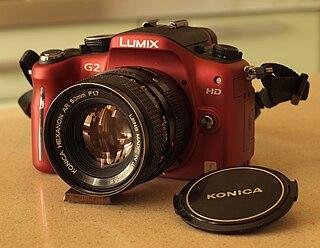 Panasonic Lumix DMC-G2 Digital camera model