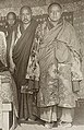 Panchen Lama's entourage members in Calcutta, 1906 (cropped).jpg