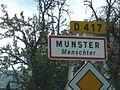 Panneau MUNSTER Menschter (Alsace).JPG