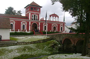 Juana Inés de la Cruz - Hacienda Panoaya, in Amecameca, Mexico where Sor Juana lived between 1651 and 1656.
