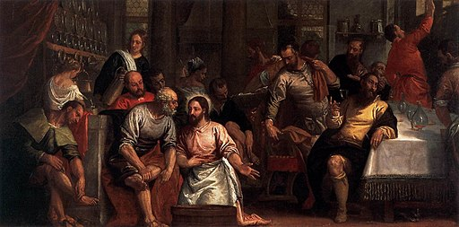 Paolo Veronese - Christ Washing the Feet of the Disciples - WGA24846