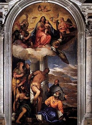 San Sebastiano, Venice - Image: Paolo Veronese 024